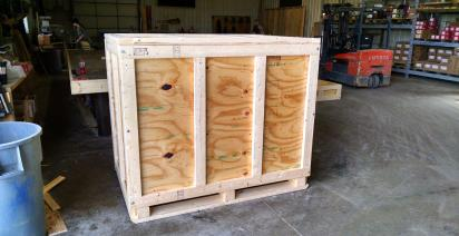 Custom Wooden Boxes, Crates, Skids & Pallets